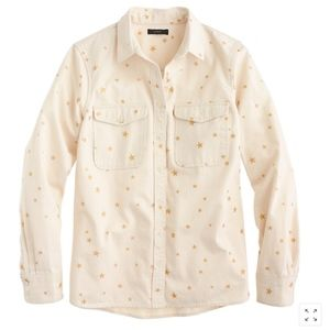 J. Crew Gold Star Lightweight Button Shirt/Jacket